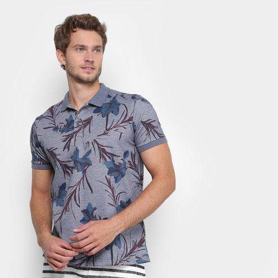 69b1d3bb60 Camisa Polo Reserva Piquet Floral Masculina - Compre Agora