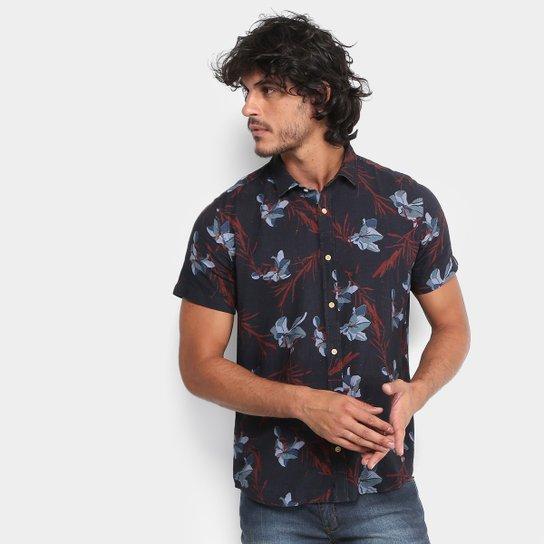Camisa Reserva Estampada Floral Manga Curta Masculina - Compre Agora ... fb03a7e465c