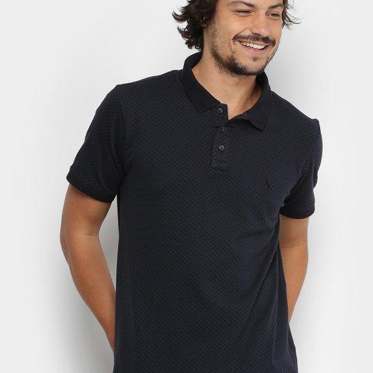 9158c298a7 Camisa Polo Reserva Piquet Jaquard Gola Contraste Masculina - Compre ...