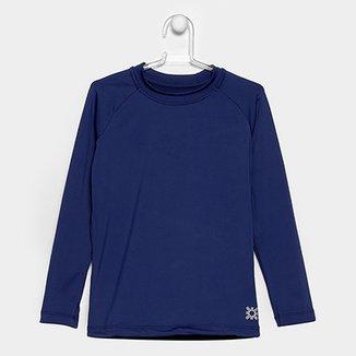 aa890ebe3 Camiseta Infantil Uv.Line UV Pro Lisa