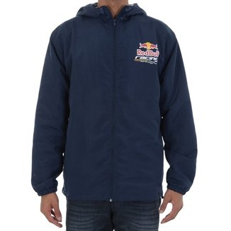 77fdf495889d0 Jaqueta Red Bull Racing Windbreaker Marinho