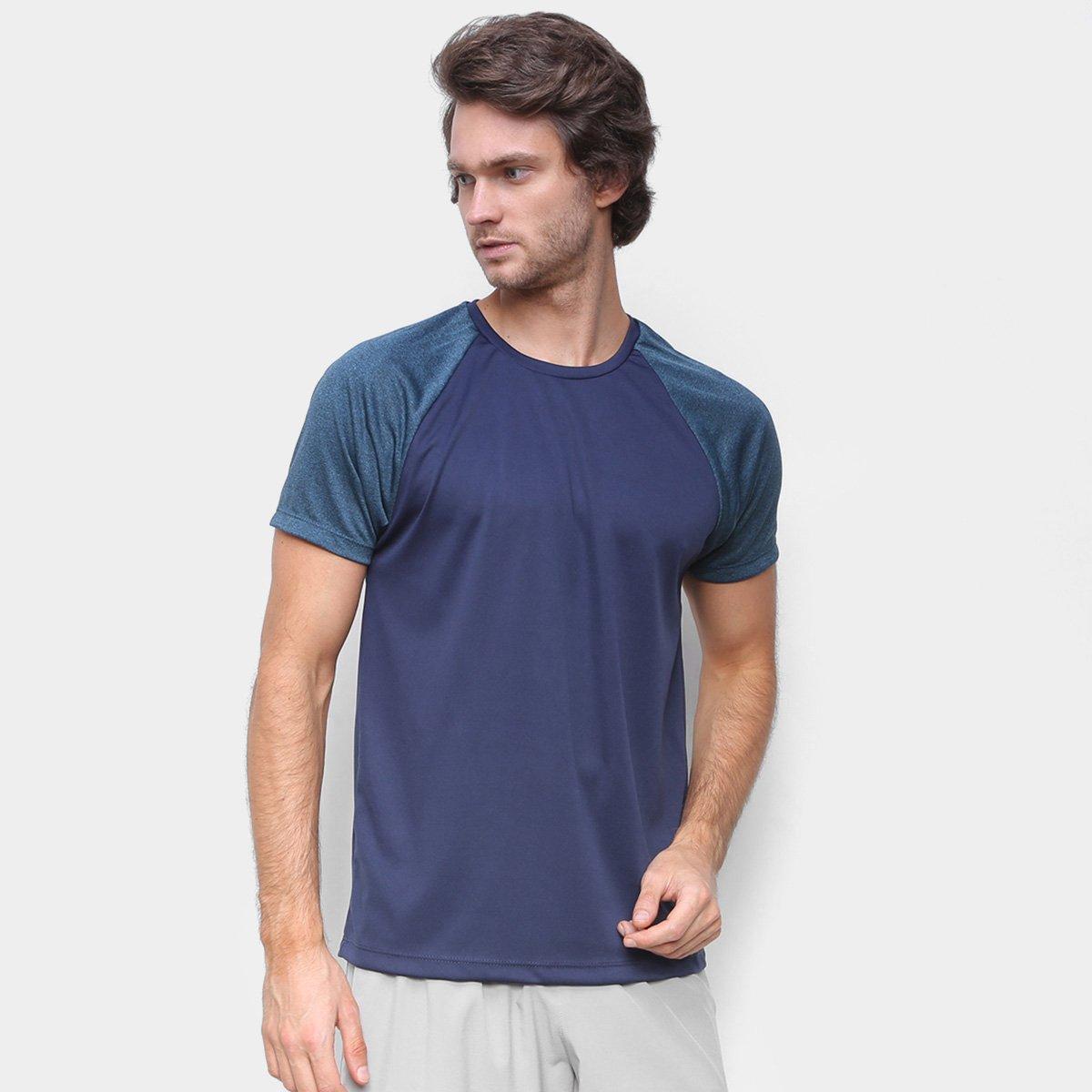 Camiseta Gonew Raglan Keep Masculina