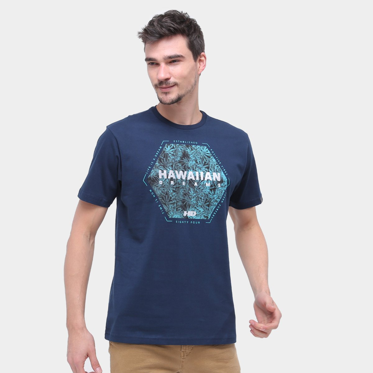 Camiseta Hd Nature Masculina