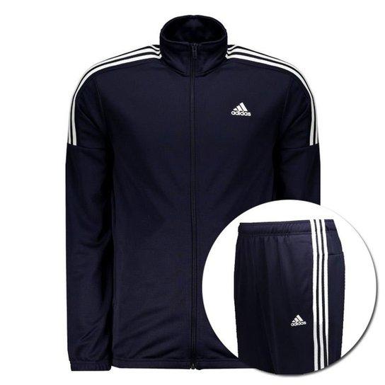19a1373f8 Agasalho Adidas MTS Team Sports - Marinho - Compre Agora