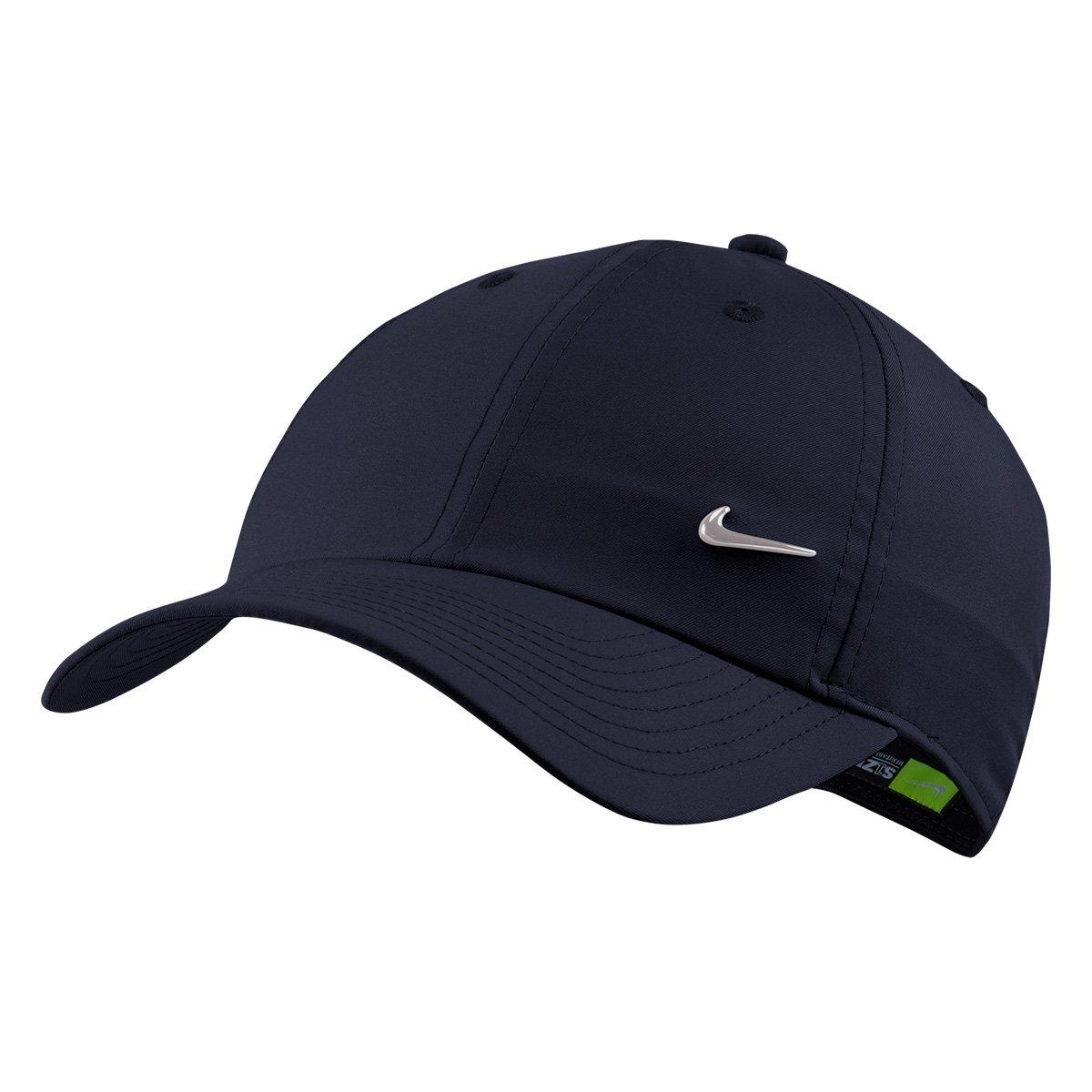 e08bbfcf8d272 Boné Nike Aba Curva H86 Metal Swoosh