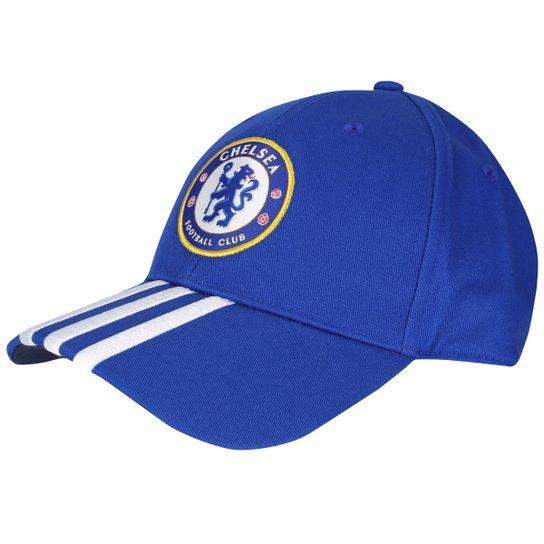 Boné Chelsea Adidas Aba Curva 3S - Compre Agora  24fdba6b653