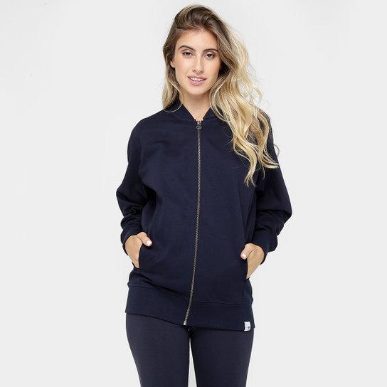 0132a9f475e Jaqueta Adidas Tt Xbyo Feminina - Marinho - Compre Agora