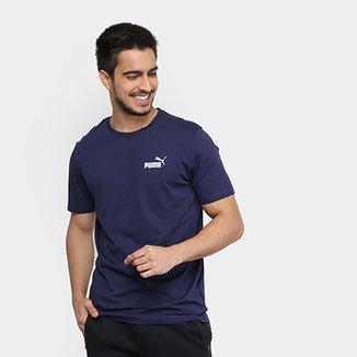 3ff72429b00 Camiseta Puma Essentials Small Logo Masculina