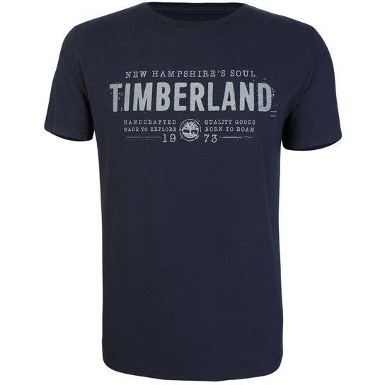 360df74c3eb2e Camiseta Timberland Masculina NH Soul - Marinho - Compre Agora