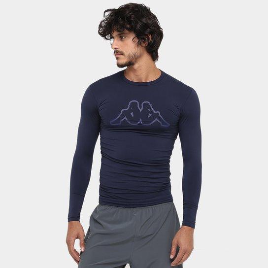 0cc8a05e6c Camiseta Térmica Kappa Brondizio Manga Longa Masculina - Compre ...