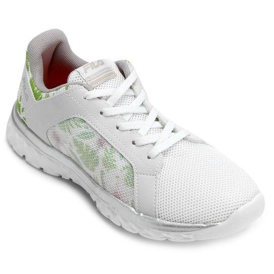 c245d03a417 Tênis Fila Lightstep Comfort 2.0 Feminino - Branco e prata - Compre ...
