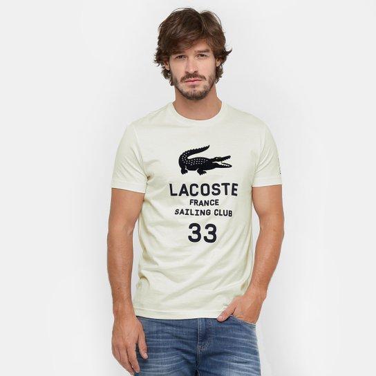b0b6d1c8eb00e Camiseta Lacoste Estampa - Compre Agora   Zattini