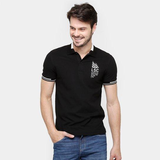Camisa Polo Lacoste Piquet Fancy - Compre Agora  7b40543972151