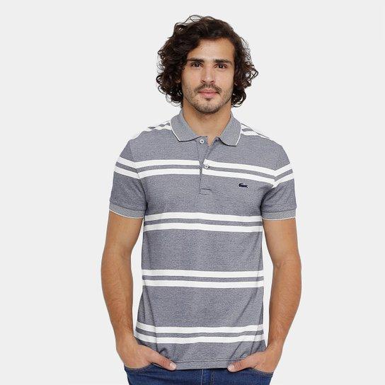 95aea86e3ebde Camisa Polo Lacoste Piquet Listrada Masculina - Compre Agora   Zattini