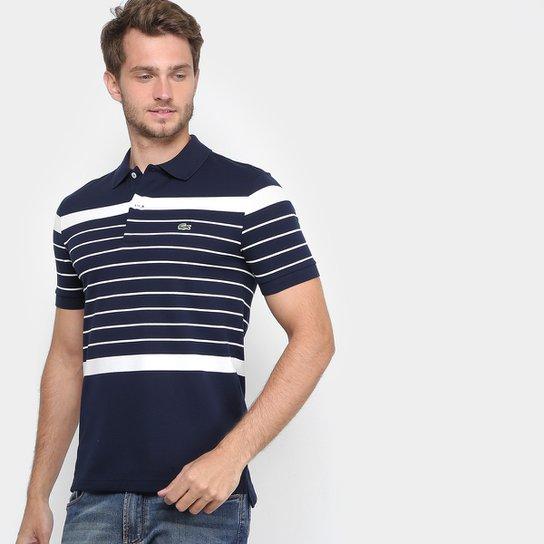 37b58072b4 Camisa Polo Lacoste Piquet Slim Fit Masculina - Compre Agora