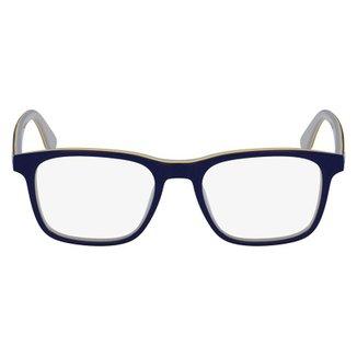 2d403a7fa3172 Armação Óculos de Grau Lacoste L2786 467 54