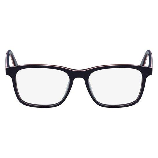 83b82e8e9 Armação Óculos de Grau Lacoste L2786 424/54 - Marinho - Compre Agora ...