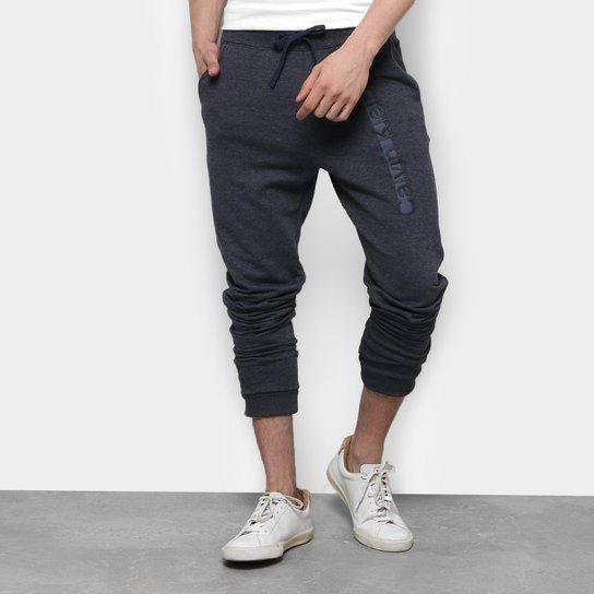 Calça Moletom Calvin Klein Relevo Masculina - Compre Agora   Zattini 26f55516c8