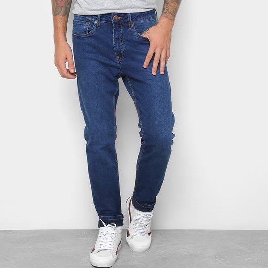 a8f96c8e0 Calça Jeans Skinny Calvin Klein Five Pockets Masculina - Marinho ...
