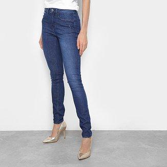 201f4065e Calça Jeans Skinny Calvin Klein Five Pockets Mid Rise Feminina