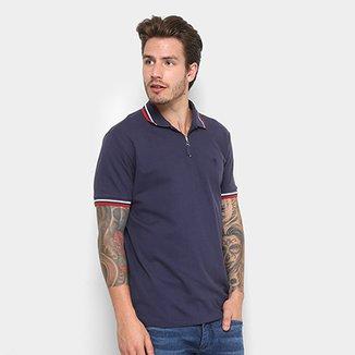 e1e1401bce060 Camisa Polo Cavalera com Zíper Masculina