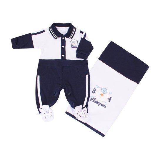 2383028666 Kit Maternidade Davi Beth Bebê Suedine - Compre Agora
