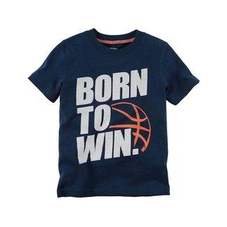 Camiseta Infantil Carter s Born To Win Masculino 68f3da3862a