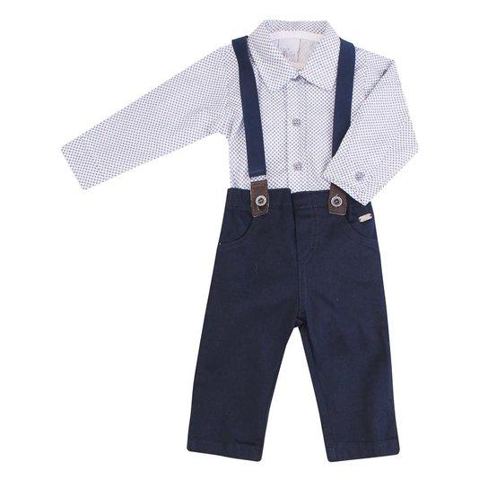 95094ac201c31 Conjunto Body E Calça Anjos Baby Suspensorio - Anjos Baby - Compre ...