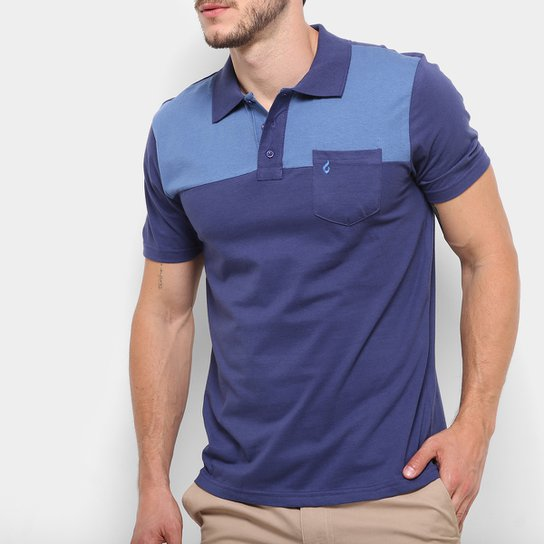 Camisa Polo Burn Casual Bolso Masculina - Compre Agora  48f7749e8f9de
