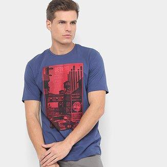 Camiseta BURN Detroit Masculina af099059df564