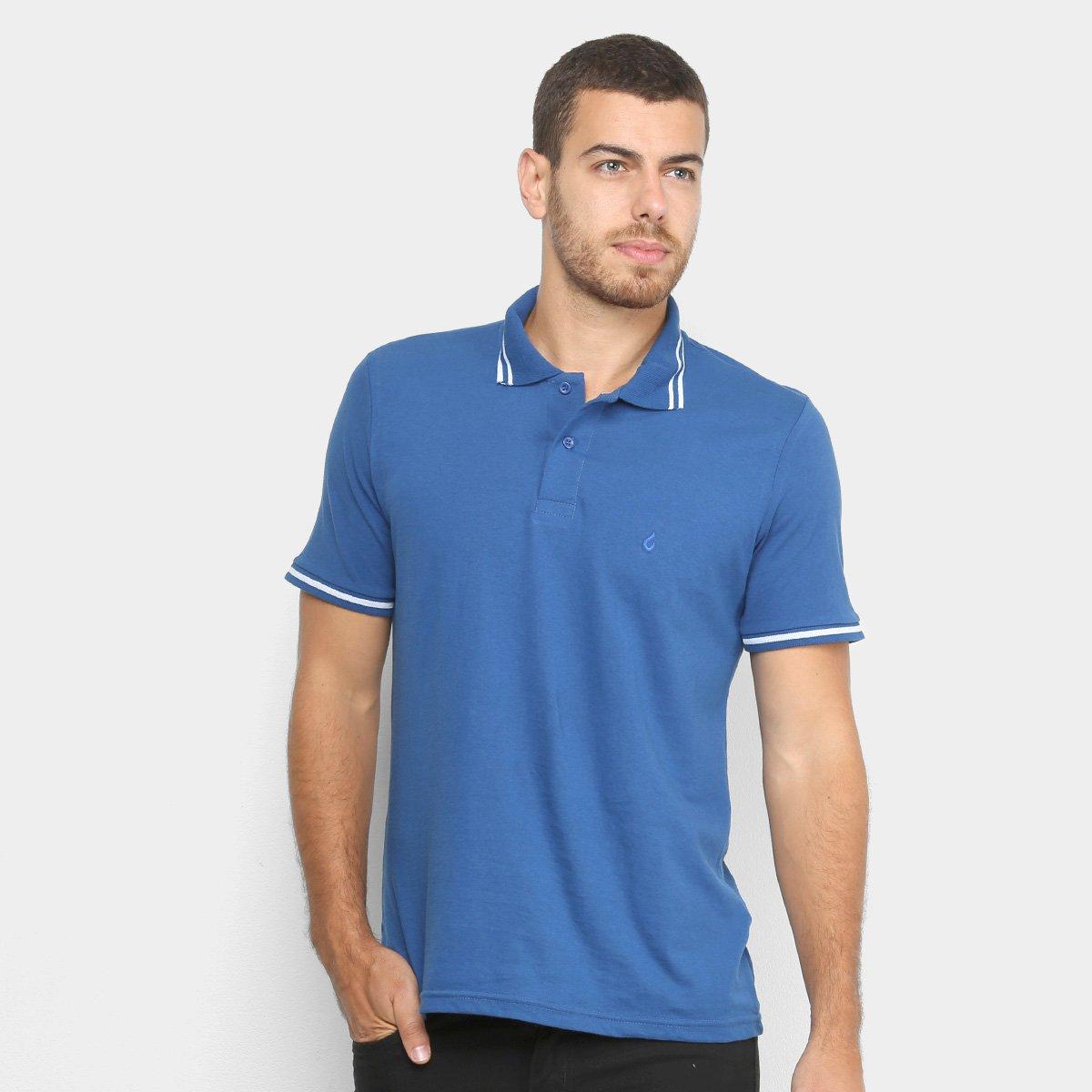 Camisa Polo Burn Stripes Masculina
