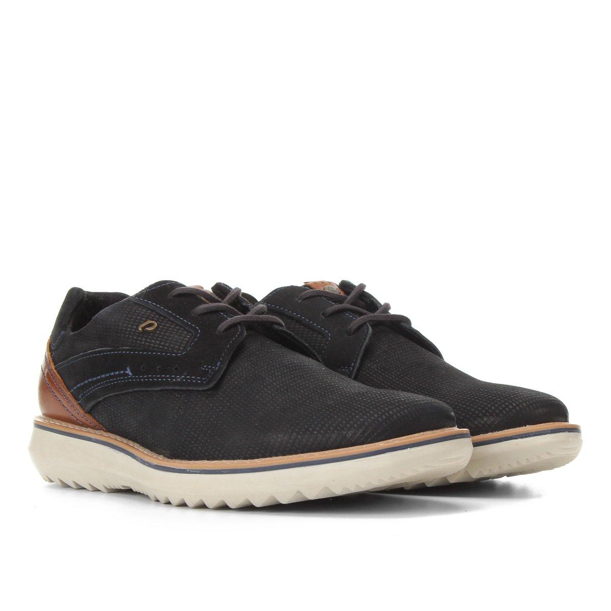 Sapato Casual Couro Pegada Masculino