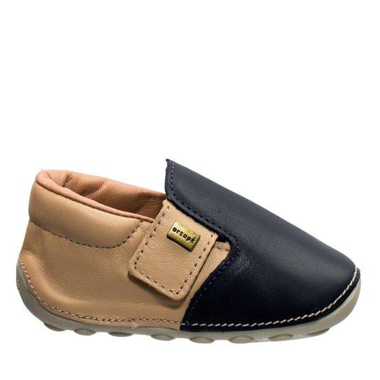 9b10e07c00 Sapato Bebê Ortopé Primeiros Passos - Marinho - Compre Agora