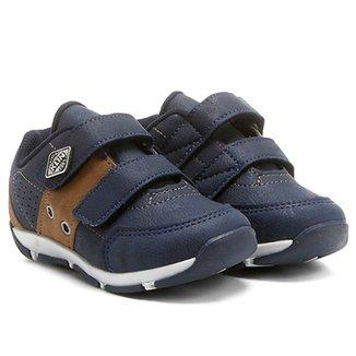 22314c245f Tênis Klin Sapatenis Outdoor 2 Velcros Infantil