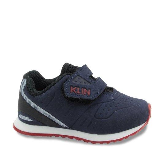 53101f4657f Tênis Infantil Klin Mini Walk - Marinho - Compre Agora