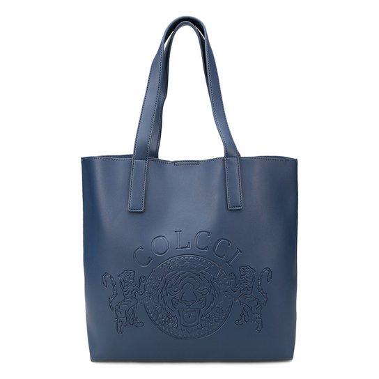 c9481fe1a9 Bolsa Colcci Shopper Brasão Feminina - Marinho - Compre Agora
