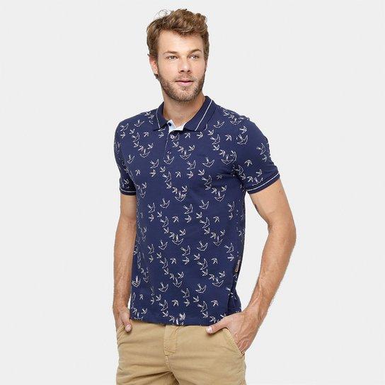 3921be52a Camisa Polo Forum Malha Estampada - Compre Agora