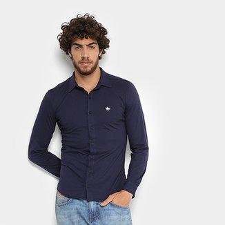 3009f683254 Camisa Manga Longa RG 518 Slim Masculina
