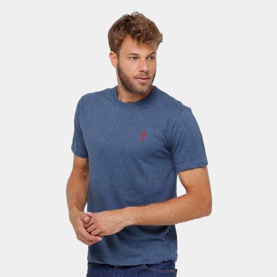 a173df641b Camiseta Aleatory Básica Mesclada Masculina - Compre Agora
