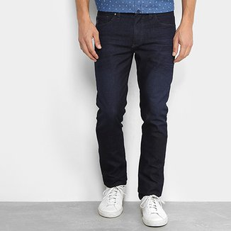 2b206bc98 Calça Jeans Slim Aleatory Estonada Masculina