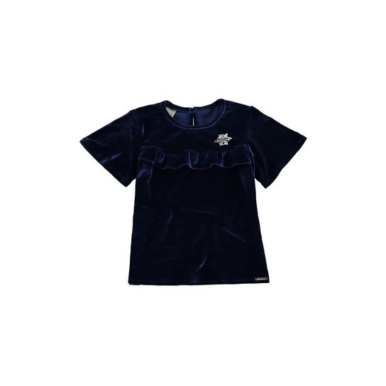 Blusa Infantil Malwee Veludo Feminino - Compre Agora   Zattini 0c34433c13