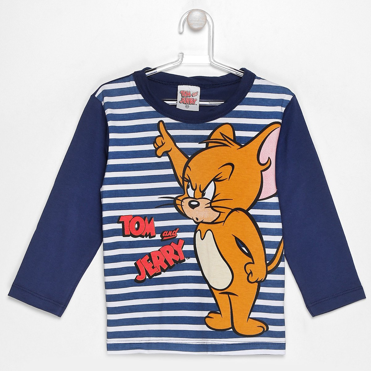 Camiseta Kamylus Tom And Jerry Infantil