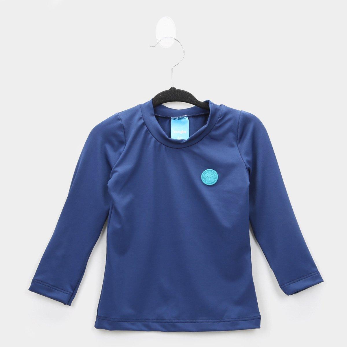 Camiseta Infantil Kamylus Proteção UV 50+ Feminina