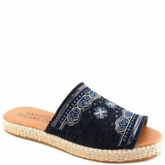 96e135feef Tamanco Corda Numeração Especial Sapato Show 395050e