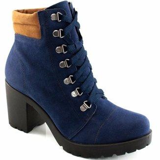 26bb5b2590 Coturno Feminino Tratorado Sapato Show