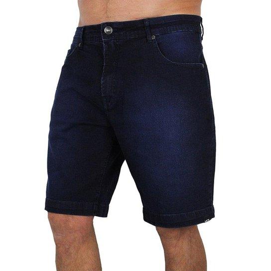 8cfb73a305122 Bermuda Jeans Mcd Slim Pure Indigo - Marinho - Compre Agora