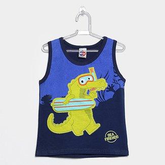 9ff0c4f97 Camiseta Regata Infantil Tip Top Tod Masculina
