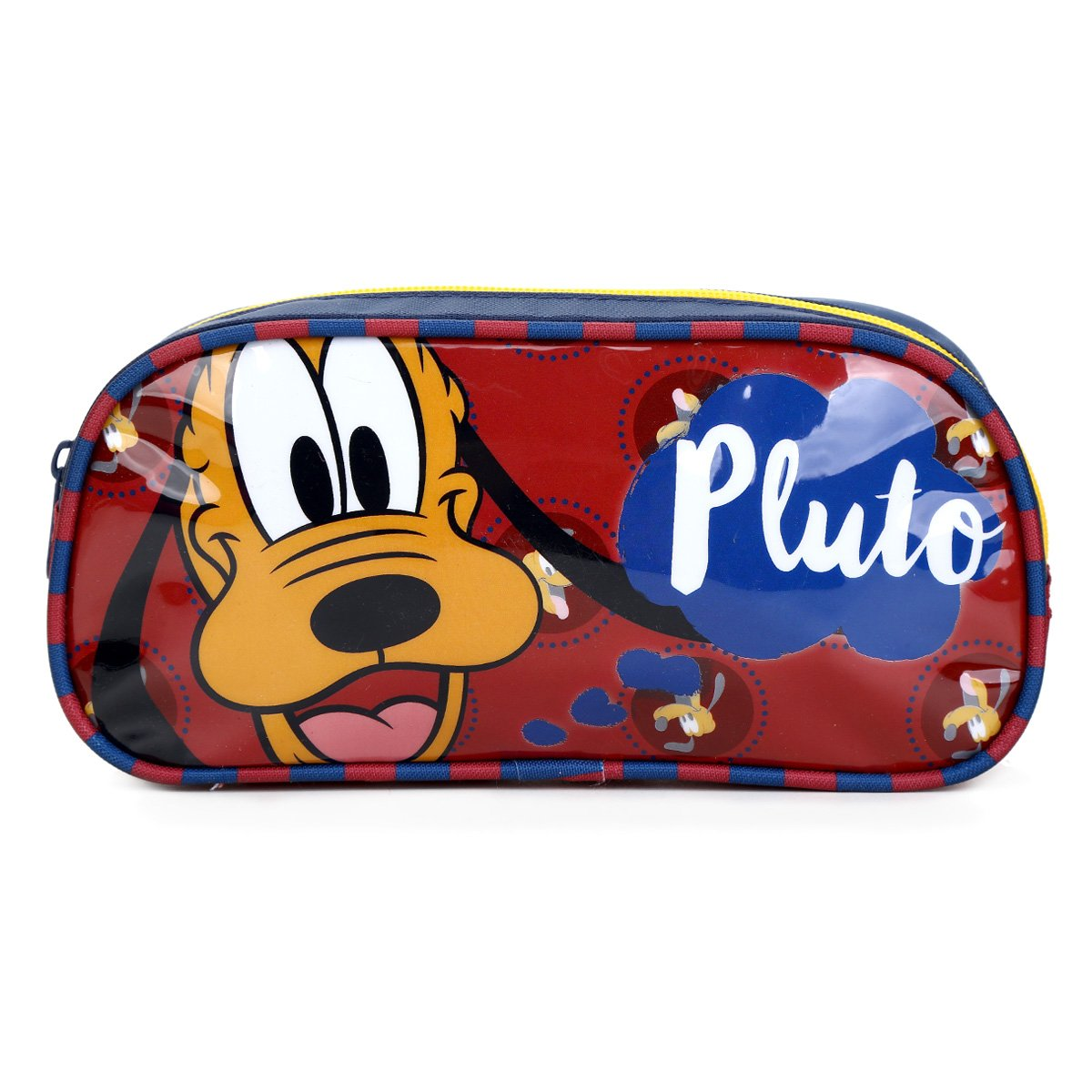 Estojo Escolar Infantil Simples Luxcel Pluto