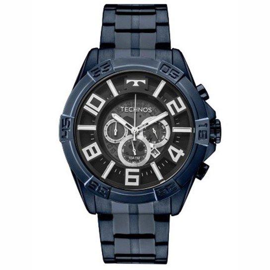 1938738b0c7ec Relógio Masculino Technos Legacy Os2abh 4P - Marinho - Compre Agora ...