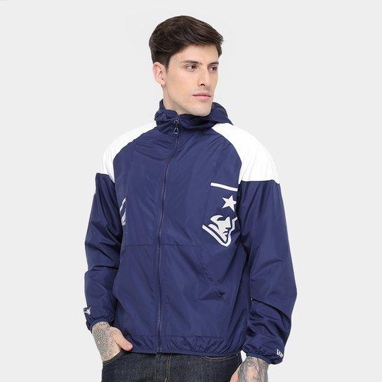 Jaqueta New England Patriots New Era NFL Windbreaker Masculina - Marinho 096558e2bca25